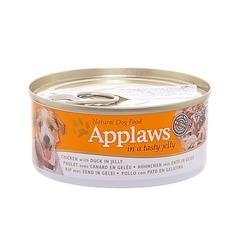 Applaws консервы для собак курица с уткой в желе , 156 гр