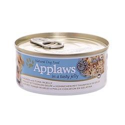 Applaws консервы для собак курица с тунцом в желе, 156 гр