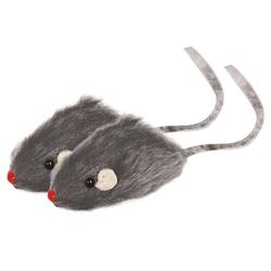 """Триол """"Мышь серая"""", 45-50мм Игрушка для кошки, 1 шт., арт.M002G"""