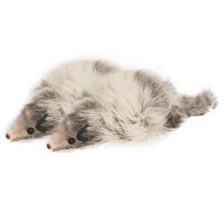 """Триол """"Мышь серая"""", 90-100мм, Игрушка для кошки, 2 шт., арт.M004NG"""