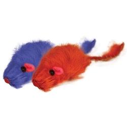 """Триол """"Мышь цветная"""", 45-50мм Игрушка для кошки, 4 шт., арт. M002NC"""
