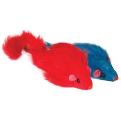 """Триол """"Мышь цветная"""", 90-100мм Игрушка для кошки, 2 шт., арт. M004NC"""