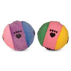 "Триол ""Мяч-лапки"", 40мм Игрушка для кошки, 4 шт., арт. 12N"