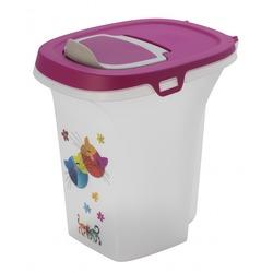 """Moderna контейнер для сухого корма Trendy Story """"Друзья навсегда"""", 6 литров, фиолетовый"""