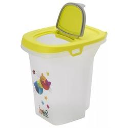 """Moderna контейнер для сухого корма Trendy Story """"Друзья навсегда"""", 6 литров, салатовый"""