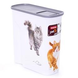 "Curver Контейнер для корма ""Кошкина радость"" на 2,5 кг"