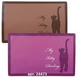 "Trixie коврик под миски ""My Kitty Darling"" для кошек"