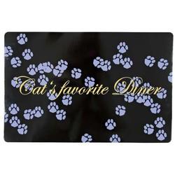 "Trixie коврик под миски ""Cat's favorite Diner "" для кошек"