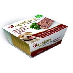 Applaws паштет для собак с курицей и овощами, 150 гр