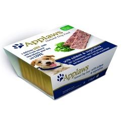 Applaws паштет для собак с лососем и овощами, 150 гр