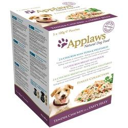 """Applaws набор из 5 паучей в желе для собак """"Коллекция вкусов"""", 500 гр"""