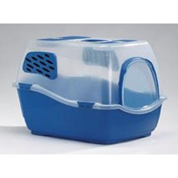 Биотуалет для кошек с фильтром Bill 1T синий