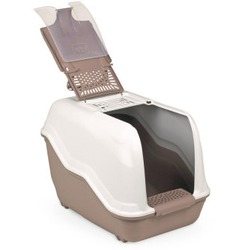 MPS био-туалет NETTA 54х39х40 см с совком, цвет коричневый