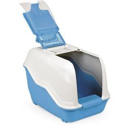 MPS био-туалет NETTA 54х39х40 см с совком, цвет голубой