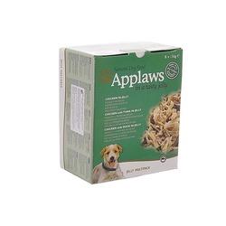 """Applaws набор консервов для собак """"Кусочки в желе с курицей: ассорти"""" 8шт.x156г"""