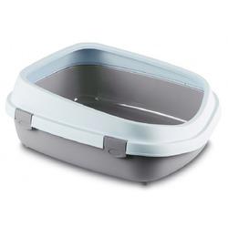 Stefanplast туалет-лоток с рамкой Queen, пудровый