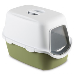 Stefanplast туалет-домик с угольным фильтром Cathy, зеленый