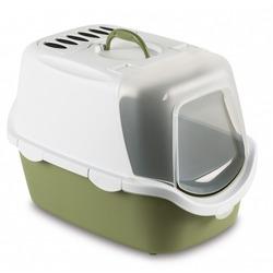 Stefanplast Туалет-домик Cathy Easy Clean с угольным фильтром, зеленый, 56x40x40 см