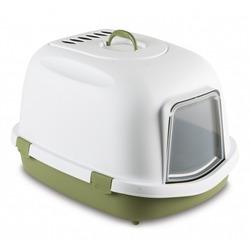Stefanplast Туалет закрытый Super Queen, с угольным фильтром, зеленый, 55x71x47 см