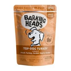 """Barking Heads паучи для собак, с индейкой """"Бесподобная индейка"""", Top Dog Turkey, 300 гр."""
