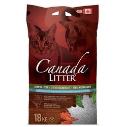 """Canada Litter Scoopable Litter комкующийся наполнитель """"Запах на замке"""" с ароматом детской присыпки"""