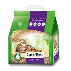 Cats Best Smart Pellets древесный комкующийся наполнитель для длинношерстных кошек