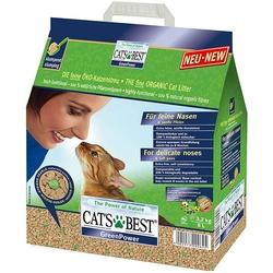 Cats Best Green Power древесный комкующийся наполнитель, 8 л. (2,9 кг)
