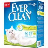Ever Clean Spring Garden наполнитель комкующийся для кошек с нежным цветочным ароматом