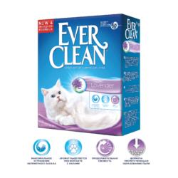 Ever Clean Lavander - наполнитель комкующийся для кошек с ароматом лаванды