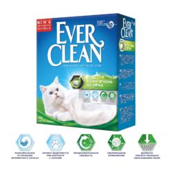 Ever Clean Scented Extra Strong - наполнитель комкующийся для кошек с ароматизатором, нейтрализует самые сильные запахи