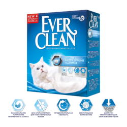 Ever Clean Unscented Extra Strong Clumping - наполнитель комкующийся без ароматизатора для чувствительных к запахам кошек и их хозяев
