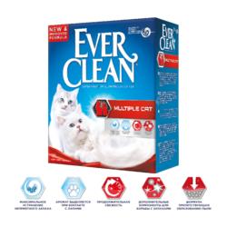 Ever Clean Multiple Cat - наполнитель комкующийся для нескольких кошек