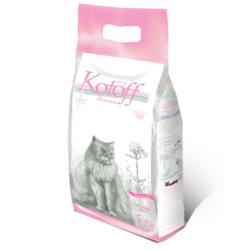 Kotoff Baby Powder наполнитель комкующийся, полиэтиленовый пакет, 6,25 кг