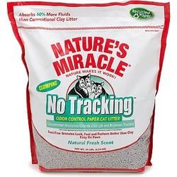 Natures Miracle бумажный комкующийся наполнитель Odor Control Paper Cat Litter, 10 литров