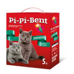 Pi-Pi-Bent для котят комкующийся наполнитель