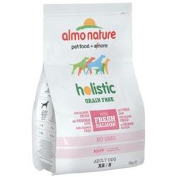 Almo Nature беззерновой корм с лососем и картофелем для собак карликовых и мелких пород