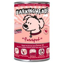Barking Heads консервы для собак с лососем Fusspot, 395 гр.