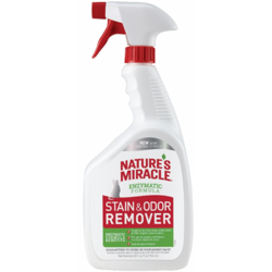 8 in 1 спрей уничтожитель запахов и пятен JFC Stain&Odour Remover Spray для кошек, 945 мл
