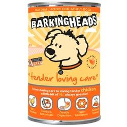Barking Heads консервы для собак с чувствительным пищеварением с курицей Tender loving Care, 395 гр.