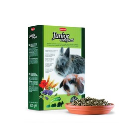 Padovan JUNIOR coniglietti - корм для кроликов и молодняка, 850 гр.