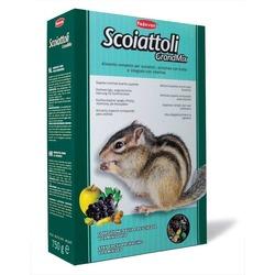 Padovan GRANDMIX scoiattoli - корм комплексный/основной для белок и бурундуков, 750 гр.