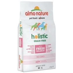Almo Nature беззерновой корм с лососем и картофелем для собак средних и крупных пород