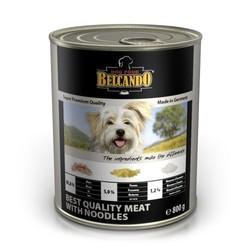 Belcando отборное мясо с лапшой консервы для собак
