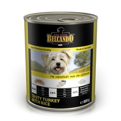 Belcando Индейка с рисом консервы для собак