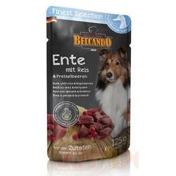 Belcando паучи для собак утка с рисом и брусникой, 125 гр х 12 шт