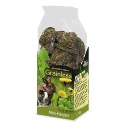 JR Farm Grainless Лакомство беззерновое для грызунов Сердечки мини 150г