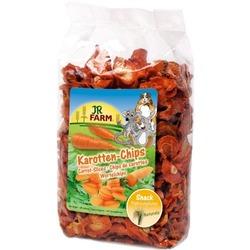 JR Farm Лакомство для грызунов кусочки Моркови 125г