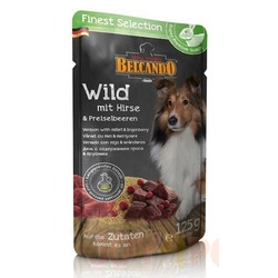Belcando паучи для собак дичь с просом и брусникой, 125 гр х 12 шт