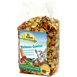 JR Farm Wellness Лакомство д/грызунов Овощные хлопья 600г