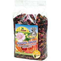JR Farm Лакомство д/шиншилл с морковью, шиповником и лепесками роз 500г